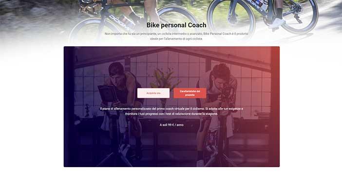 Pagina prodotti sul sito bikevo.com